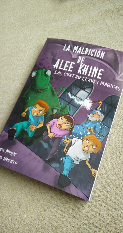 """portada """"La Maldición de Alee Khine"""""""