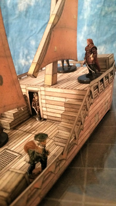 Cutfiles: Marauder Ship by Dave Graffam Models | Cardboard Warriors