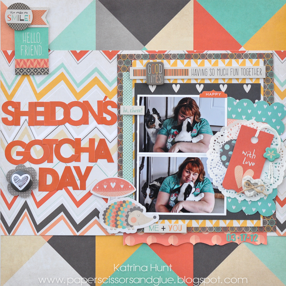 Sheldon's_Gotcha_Day_Scrapbook_Page_Katrina_Hunt_Fancy_Pants_1000Signed-1