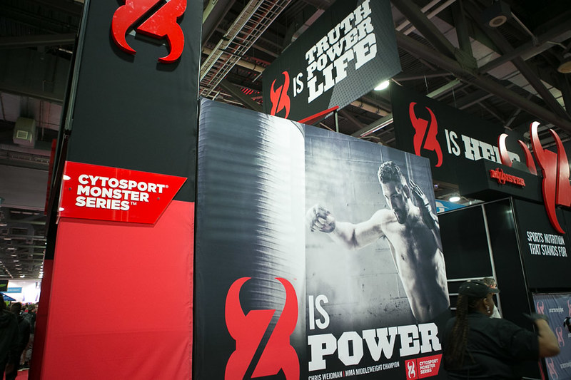 CytoSport Monster @ the 2015 Arnold Sports Festival