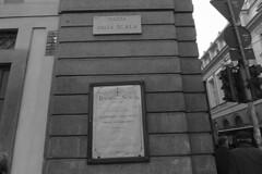 Milan - La Scala sign