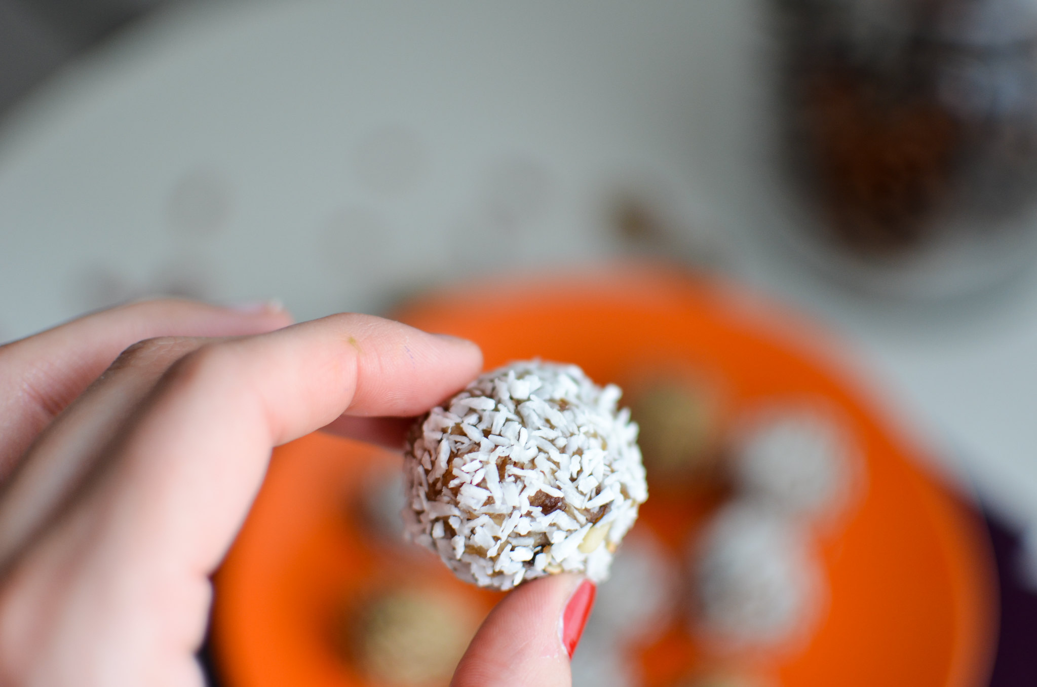Perles de fruits secs