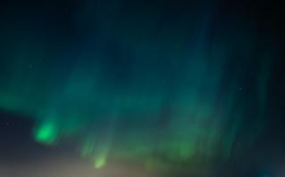 Aurora borealis in Helsinki 17.3.2015