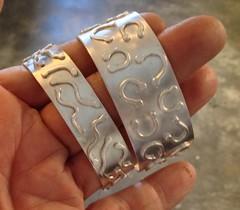 Cuffs to be oxidized....