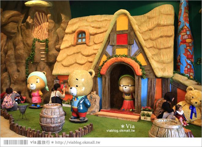【熊大庄】嘉義民雄熊大庄森林主題園區~新觀光工廠報到!小熊的童話森林真實版15