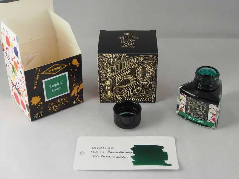 Diamine 150th Anniversary Tropical Green