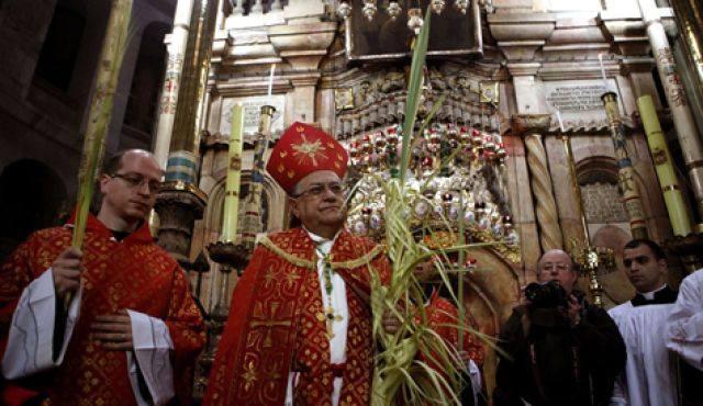Thánh Địa Jerusalem Bước Vào Tuần Thánh