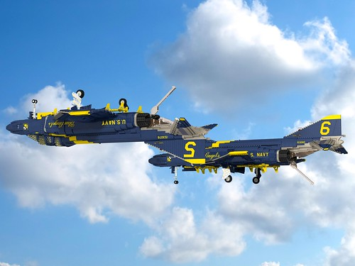 F-4J Phantom II Blue Angels