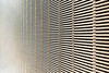 Metal wire partition