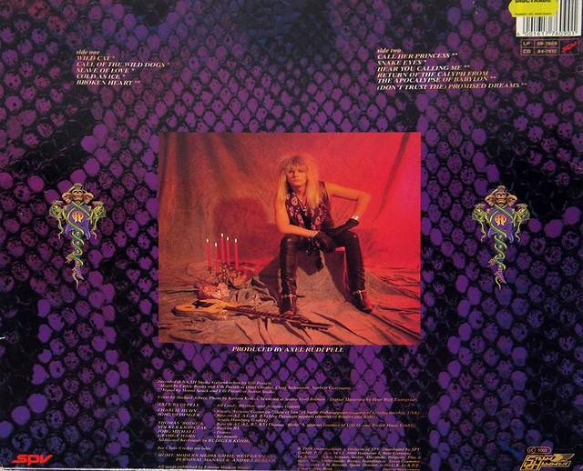 "AXEL RUDI PELL WILD OBSESSION Steeler 12"" Vinyl LP"