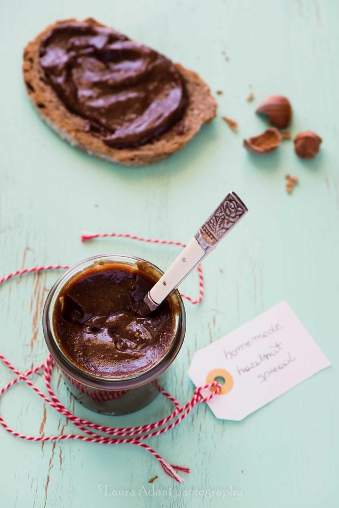 homemade hazelnut spread