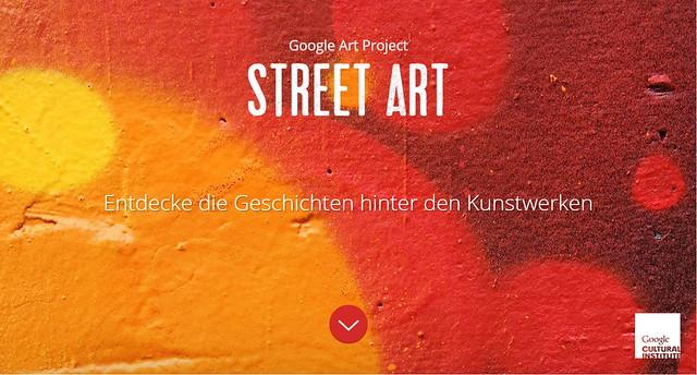 Google StreetArt Project