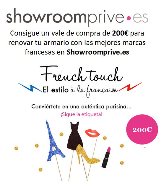 Crea concurso French Touch Blogger Spain