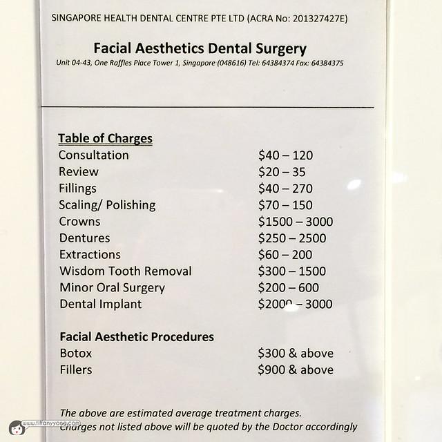 FADentalSurgery Pricing