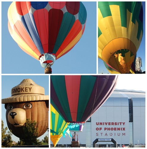 Out West Balloon Fest collage
