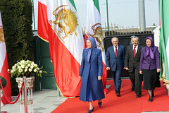Maryam Rajavi ? National Council of Resistance of Iran session ? 14 March 2015 -1
