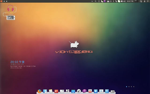 voyager desktop