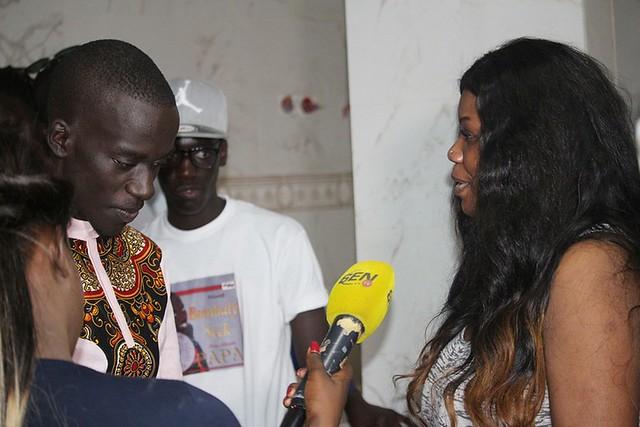 Bambaly avec Daba Sèye rejoint par l'équipe de Sen TV-BorderMaker
