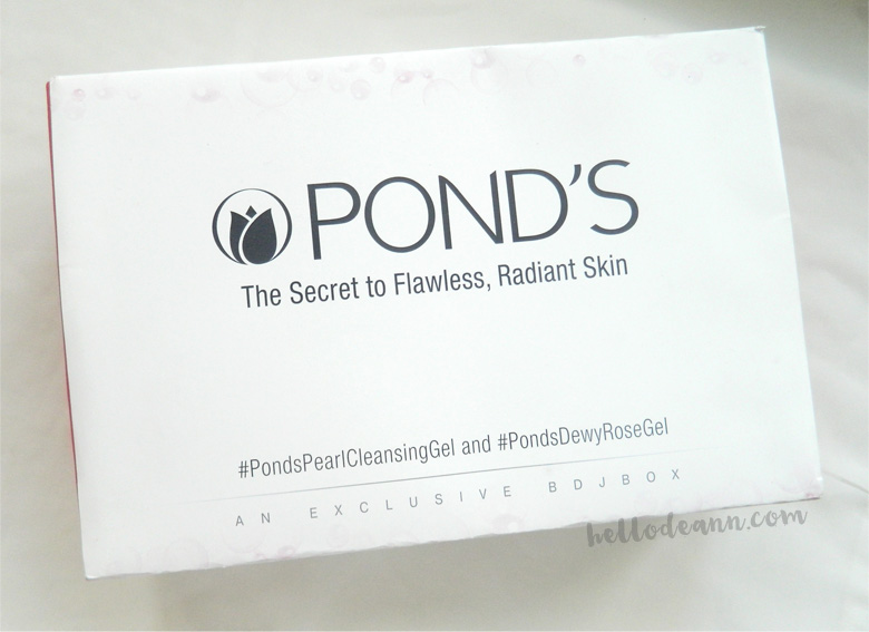 BDJBox Exclusive Pond's The Secret to Flawless, Radiant Skin Box