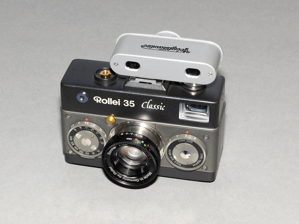 Rollei classic mit voigtländer entfernungsmesser flickr