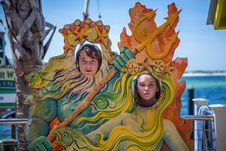 Triton & Mermaid