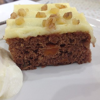 Carrot #cake from #happycloudcafe #clevelandqld #brisbane #food #foodblog #aninstantonthelips