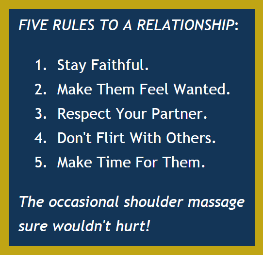 Five Rules For A Healthy Relationship (BrianMc, Myway2fortune.info)