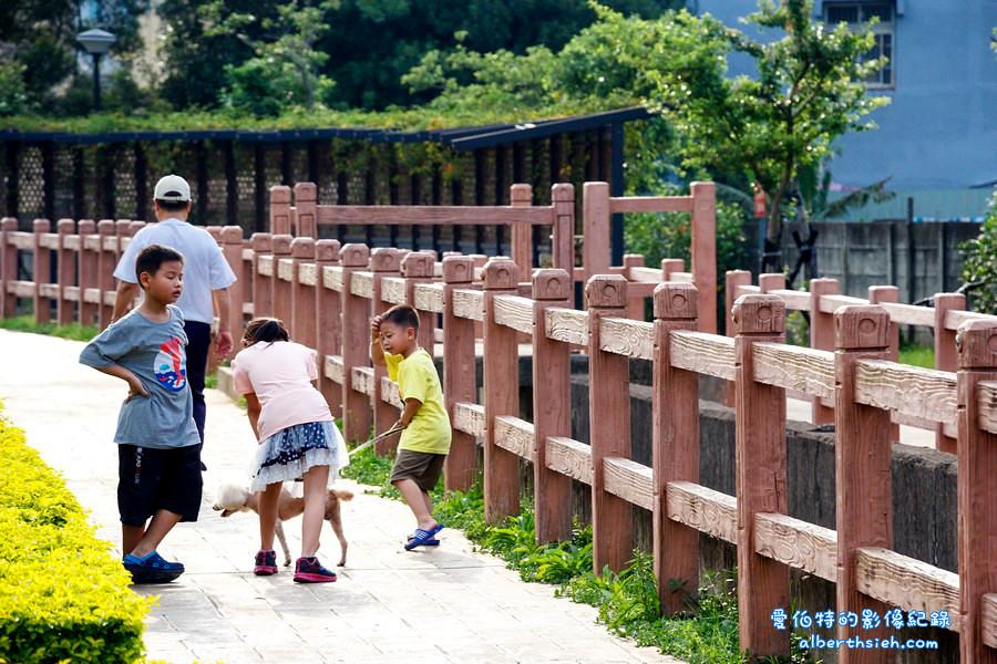 社子支渠流蘇景觀步道