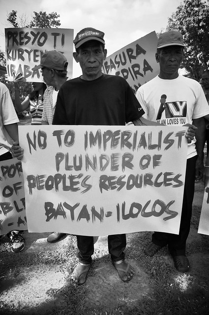 Renewable Energy Protest Rally in Ilocos Norte - April 13, 2015