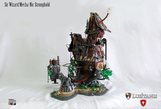 Sir Wizard Mecha-Nic Stronghold 02