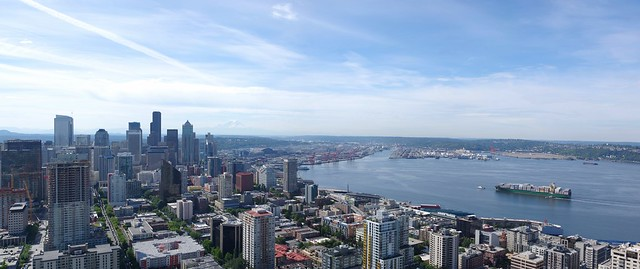 Space Needle panorama 2