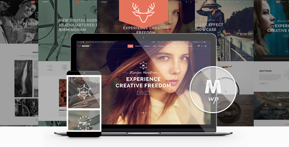 Moose v1.7 - Creative Multi-Purpose Theme