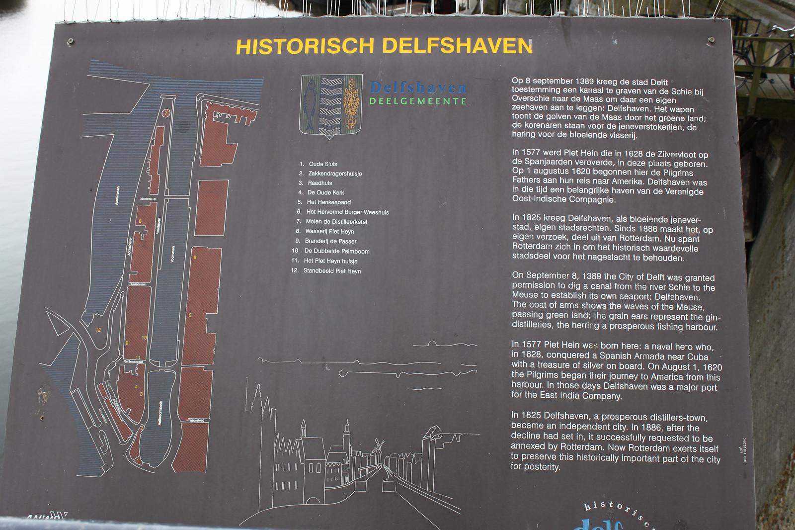 Oude Haven (vanha satama) on suosittua ravintola-aluetta ja sijaitsee Rotterdamin vanhassa kaupungissa. Täälläkään ei ole paljoa pommien tuhoilta välttynyttä, mutta jotakin sentään on säilynyt. Oude Havenissa on myös telakka, jossa korjataan laivoja perinteisillä menetelmillä.