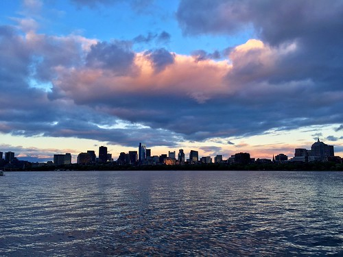 cambridge sunset sky weather boston clouds massachusetts charlesriver newengland pw
