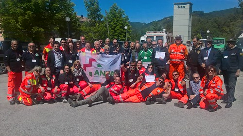 Abruzzo: l'esercitazione di protezione civile Valle Rocca 2016