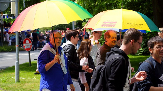 Gay Pride - CSD Nordwest - Oldenburg 2016 (Germany) / Orlando - you´ll never stand alone !