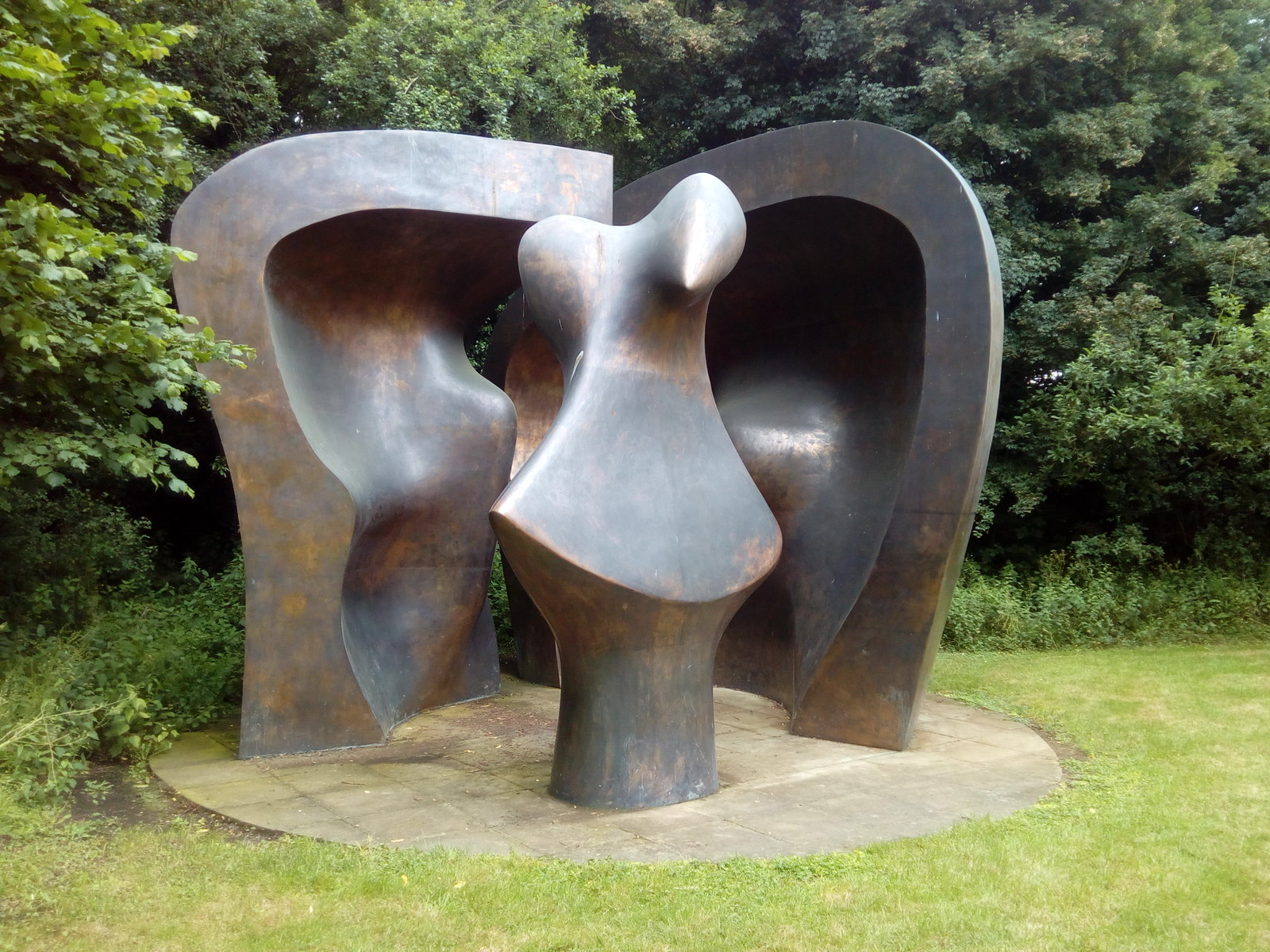 Curtsey Henry Moore Collection
