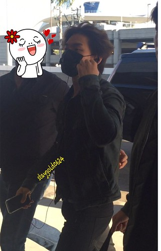 Big Bang - Los Angeles Airport - 06oct2015 - StayGold0624 - 01