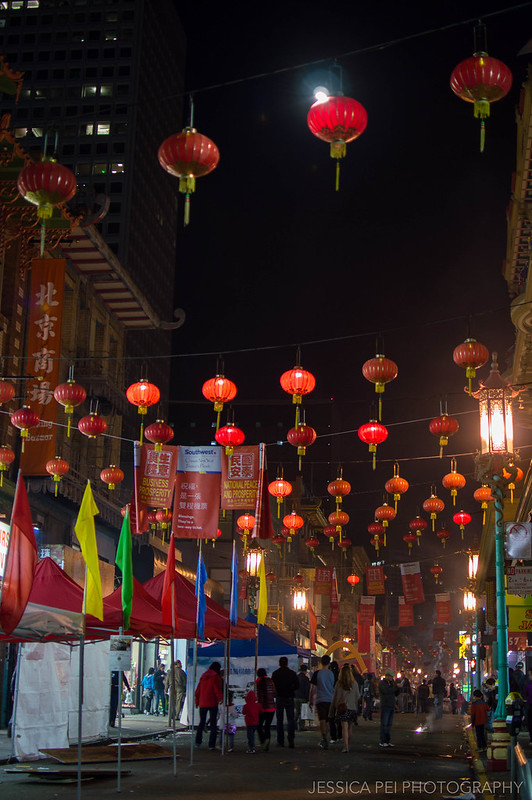 Chinatown San Francisco at Night
