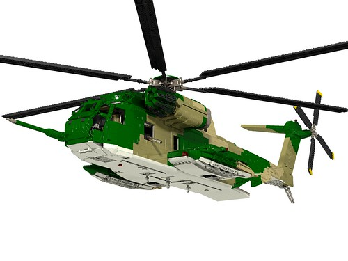 HH-53C Super Jolly Green Giant left lower front gear up
