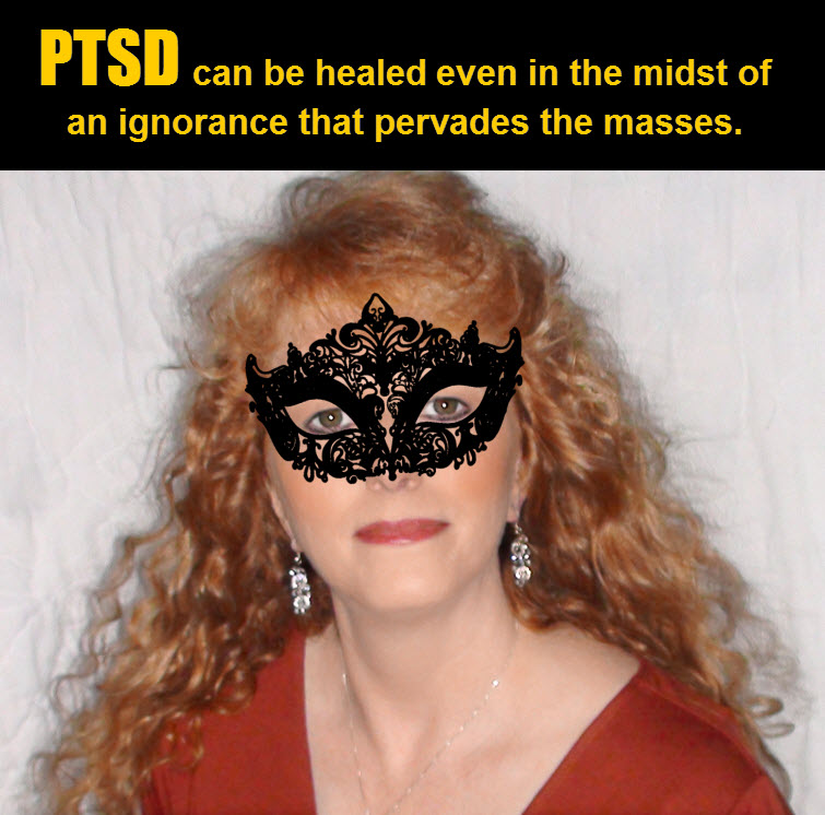 masked redhead Wearing A Mask In The Midst Of PTSD Ignorance 5