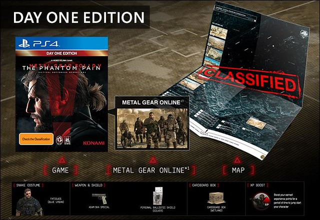 Metal Gear Solid V Day One Edition