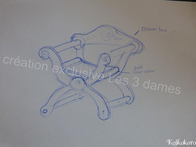 Les 3 Dames ~ meubles pour poupées : Fauteuil SD 16259873494_4b9d90591d_z