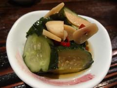 Pickled Cucumber with Garlic @Kazuki, Gubei, Shang…