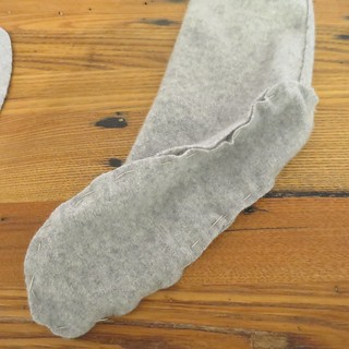 Iron Craft '15 Challenge #6 - Cashmere Slipper Socks