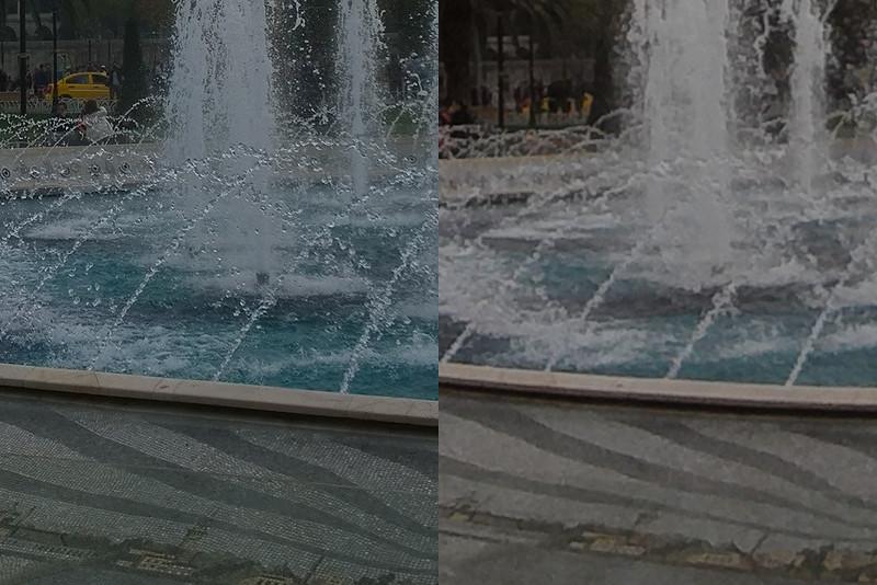 Lumia 1020 and Polaroid Cube comparison