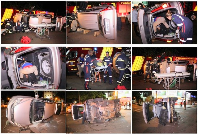acidente com policial rodoviário estadual