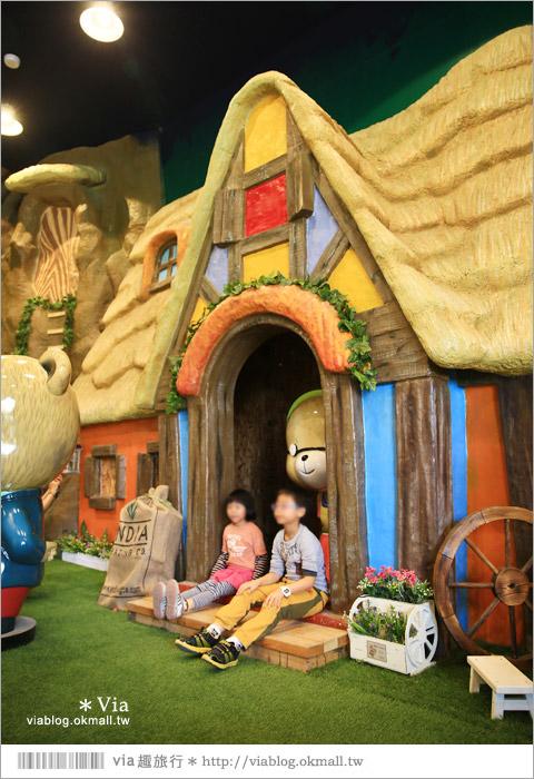 【熊大庄】嘉義民雄熊大庄森林主題園區~新觀光工廠報到!小熊的童話森林真實版16