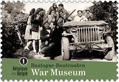 18b Bastogne War Museum timbre