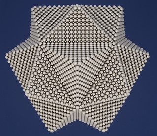 Right Angle Pyramid Icosahedron Stellation